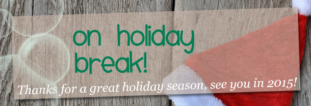 GEEKSOAP is on holiday break until January 2015