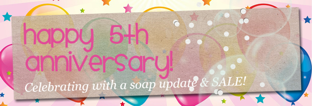 GEEKSOAP's 5 Year Anniversary!