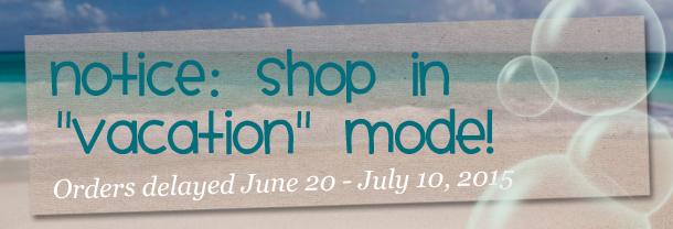 note: shop in vacation mode