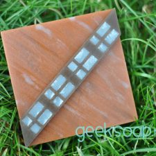 Chewbacca Wookiee geek soap by GEEKSOAP.net