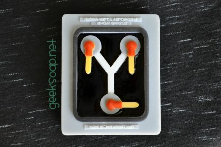 flux capacitor geek soap by GEEKSOAP.net