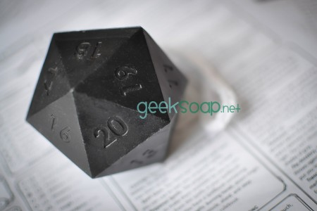GEEKSOAP original - D20 Soap on a Rope!