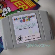 Nintendo N64 game cartridge geek soap by GEEKSOAP.net