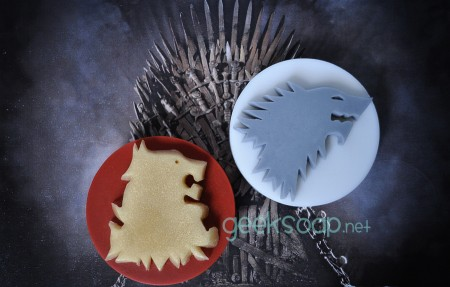 Game of Thrones geek soap by GEEKSOAP.net Stark Lannister