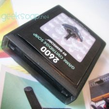 atari 2600 game cartridge geeksoap soap by GEEKSOAP.net