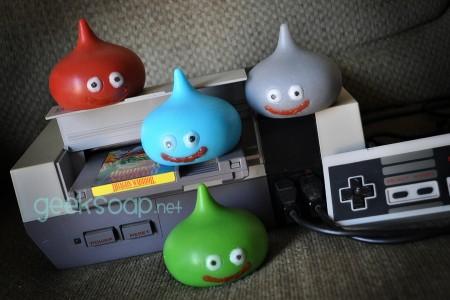 Dragon Warrior slime geek soap by GEEKSOAP.net
