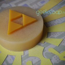 Legend of Zelda triforce geek soap by GEEKSOAP.net