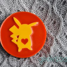 Pikachu soap Pokemon geek soap by GEEKSOAP.net
