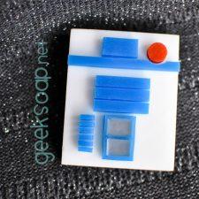 R2-D2 geek soap by GEEKSOAP.net