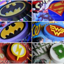 superhero soaps by GEEKSOAP