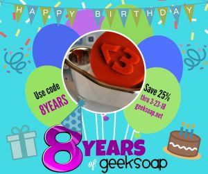 8 years of GEEKSOAP