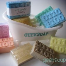 binary geek soap bar by GEEKSOAP.net