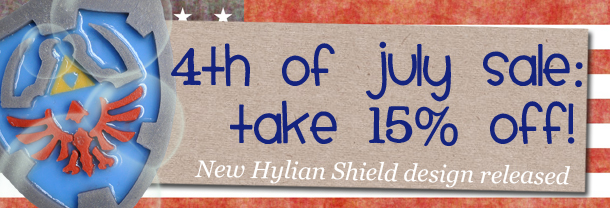 4th of July SALE + Hyrule Shield