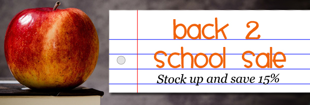 Back2School sale at GEEKSOAP