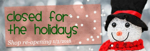 GEEKSOAP Closed for the Holidays, re-opening on 1/3/2018