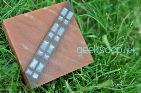 Chewbacca Wookiee geek soap by GEEKSOAP.net
