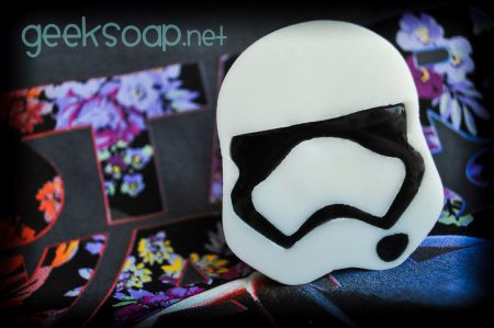 First Order Stormtrooper geek soap by GEEKSOAP.net