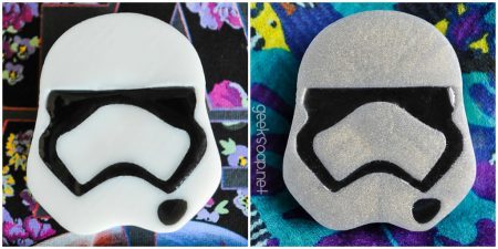 Star Wars First Order Stormtrooper soap Phasma geek soap by GEEKSOAP.net