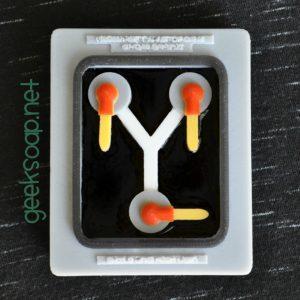 flux capacitor geek soap by GEEKSOAP.net
