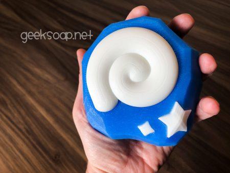 ACNH fossil bar of geek soap by GEEKSOAP geeksoap.net