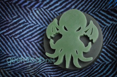 Cthulhu geek soap by GEEKSOAP.net
