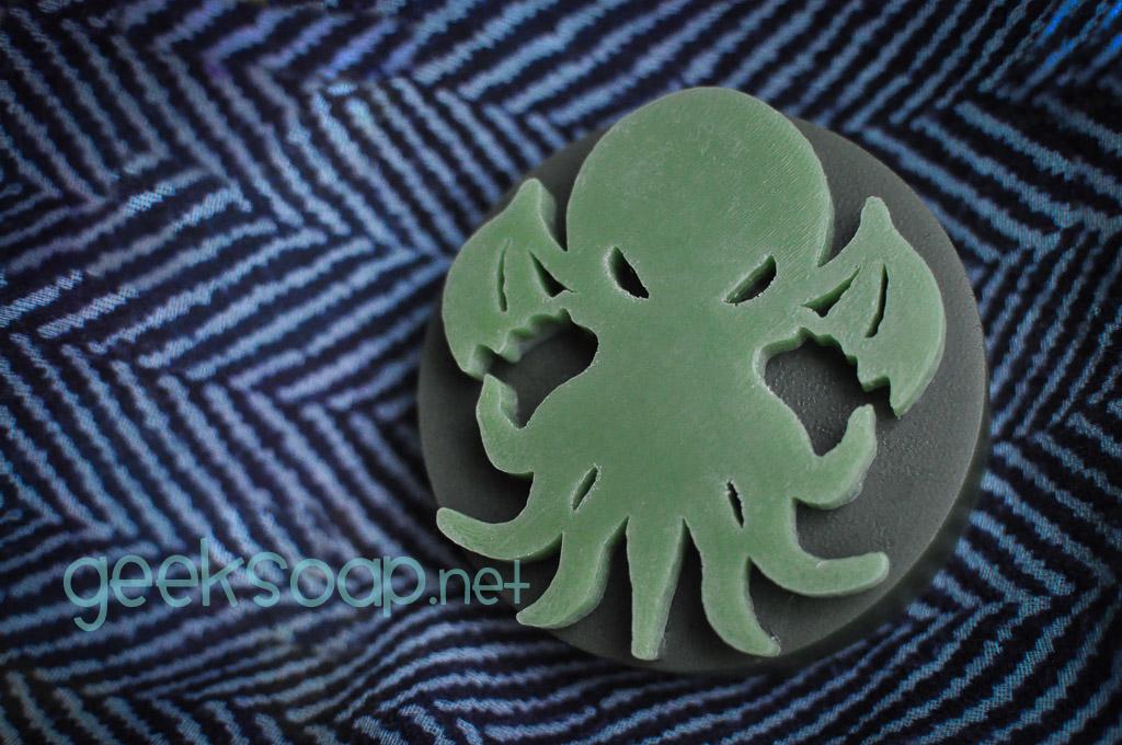 Cthulhu geek soap by GEEKSOAP.net