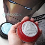 arc reactor iron man geeksoap