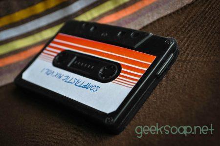GEEKSOAP mixtape Guardians of the Galaxy cassette geek soap