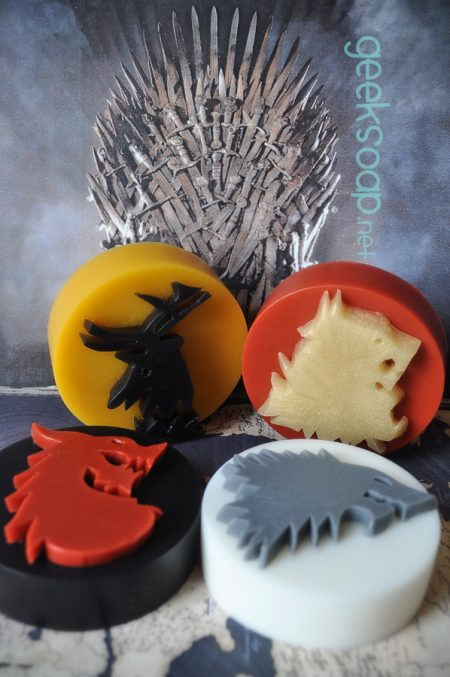 Game of Thrones geek soap by GEEKSOAP.net