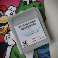 Nintendo gameboy game cartridge geek soap by GEEKSOAP.net