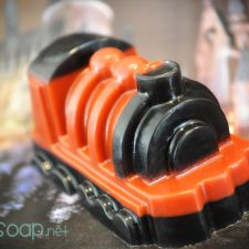 Harry Potter Hogwarts Express geek soap by GEEKSOAP.net