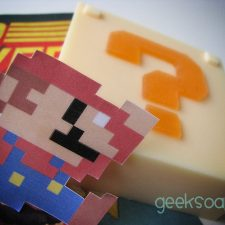Super Mario Bros. mystery block geek soap by GEEKSOAP.net