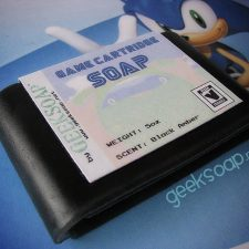 sega sg 16-bit genesis game cartridge geeksoap