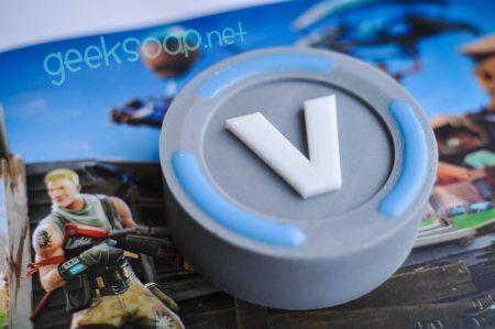 Fortnite V-bucks geeksoap soap by GEEKSOAP.net