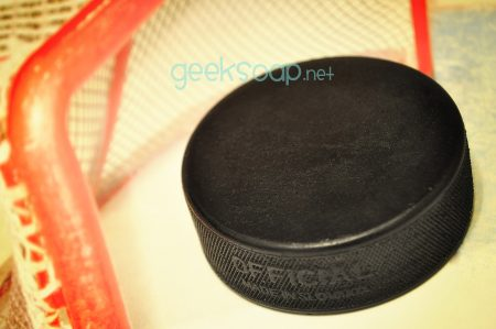 hockey puck geek soap by GEEKSOAP.net