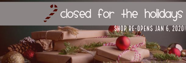 GEEKSOAP is closed temporarily for the holidays - shop re-opens Jan 6, 2020