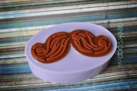 mustache geek soap by GEEKSOAP.net
