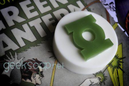 green lantern soap by geeksoap.net