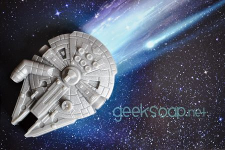 millennium falcon soap by GEEKSOAP.net