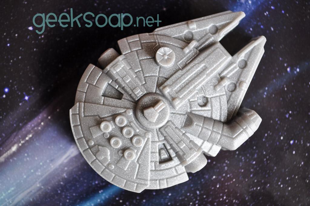 millennium falcon soap by GEEKSOAP.net