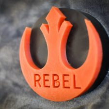 REBEL geek soap by GEEKSOAP.net
