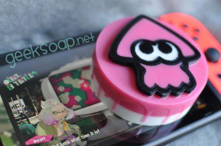 pink inkling Splatoon geeky soap by GEEKSOAP.net