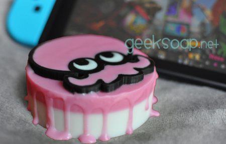pink octoling Splatoon geeky soap by GEEKSOAP.net